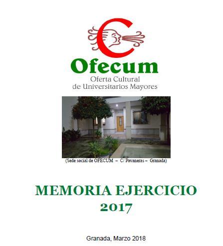 memoria ejercicio 2017